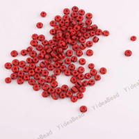Wholesale 450pcs NEW Arrival Red Mini Glass Seed Beads Handcraft Loose Spacer BAEDS Fit Bracelets mm