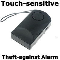 Wholesale Wireless Touch Door Knob Entry Alarm Alert Security Anti Theft dB Black FK202 e_shop2008