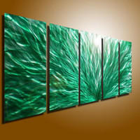 Wholesale Metal Modern Abstract Wall Art Painting Sculpture Decor original art