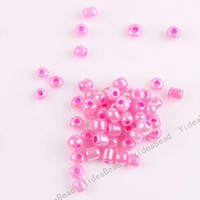 Wholesale 360pcs Plum Color Mini Glass Seed Beads Handcraft Loose Spacer BAEDS Fit Bracelets mm