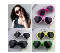 beach film - 30PCS heart shaped sunglasses sunglasses candy hearts love color gray film glasses sunglasses