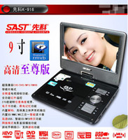 Wholesale SAST Yushchenko K inch Mini portable DVD RMVB Mobile with TV book D