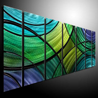 Wholesale Oil Painting art metal painting wall Metal Modern Abstract Art Sculpture Decor original art