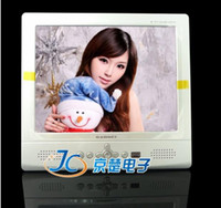 Wholesale 8 quot colorful Portable TFT LCD Monitor Car TV Television PL8006 Fast Dispatch