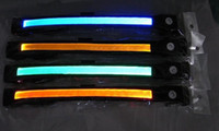 Wholesale 50pcs good discount led pet collar led dog collar flashing dog collar light up pet collar