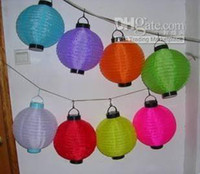 Wholesale quot Solar Powered Chinese Lantern Patio Garden Party Festival Decoration Yard LED light