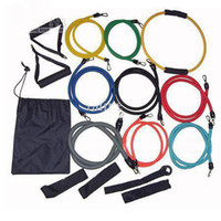 Wholesale 50 set set Latex Resistance bands Exercise bands for Yoga ABS workout