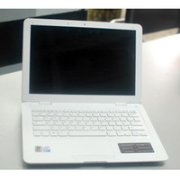 Wholesale 13 Inch Intel Atom N455 Ghz Laptop computer GB GB wifi camera windows notebook white