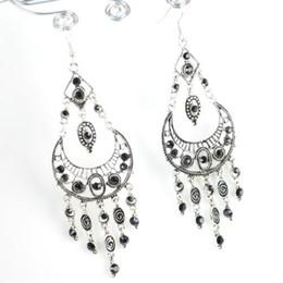 Jhumka Earrings, Fashion Alloy Vintage Jewelry Chandelier-dangle Earrings, Hook With Tassel. ER-472E