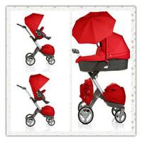 baby pram - 1 piece V Stokke Xplory Stroller Baby Portable Pram Prams Baby Travel Carriage Buggy Strollers