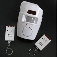 Wholesale Motion Infrared Sensor Alarm with Remote Controls Home Security Buglar Anti Lost FK105 e_shop2008