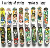 Wholesale Finger skateboard factory direct low cost promotional plastic material