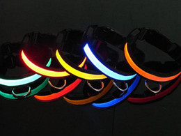 Wholesale New pet product led pet collar led dog collar with drop shipping