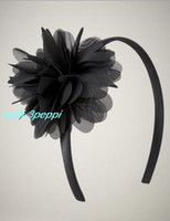 Wholesale Hot notti peppi fashion band baby hair band flower dress hair accessory B20