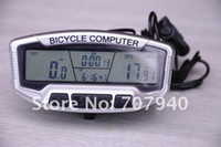 Wholesale 28 Fuctions LCD Cold Backlight Larger Blue Screen Waterproof Wired Bicycle Odometer Multifunction