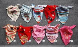 Wholesale 30PCS Japan NISSEN baby bibs as headscarf