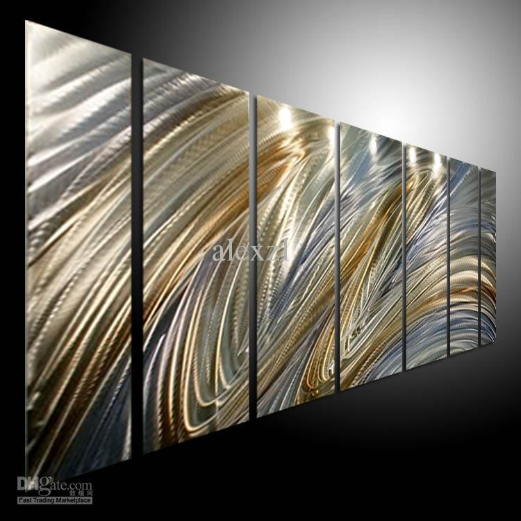 Oil painting art metal paintings wall home decor metal for Modern wall art for sale