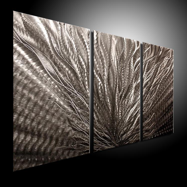 2017 oil painting art metal paintings wall home decor for Decor mural metal