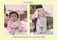 for Winter Coverall 80 90 95  Wholesale -- Just arrival Baby long sleeve romper Winter Bodysuits costomes baby onesies -WL772C