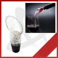 Wholesale New Wine Decanting Aerating Filter Aerator Pourer Spout