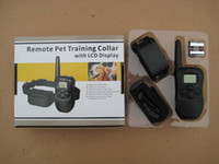 Wholesale Lcd lv Level Shock amp vibra Remote Dog Training Collar D