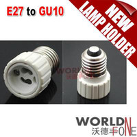 adapter e27 to gu10 - E27 to GU10 Lamp Holder Adapter for LED Light Bulb WF LHA22