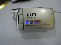 Wholesale 5PCS HD A70 quot TFT LCD MP X Digital Video Camcorder Red amp Silvery amp Black HDA70 HD A70