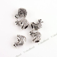 Wholesale 175 New Alloy Charms Beads Duck shape Metal Spacer beads Fit European Charms Bracelets mm