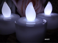Wholesale Quanlity guarantee HOT BLOW IT OUT White Tea Light LED Candle Lamp Wedding Patty Decor