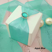 Wedding baby brads - Baby Shower Favour Aqua Blue Brads Paper Fastener Wedding Favor Craft