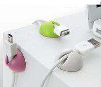 Wholesale 1200pcs multipurpose Cable organizer CABLE CLIP Cable Clips Cable Drops Cable Drop pack