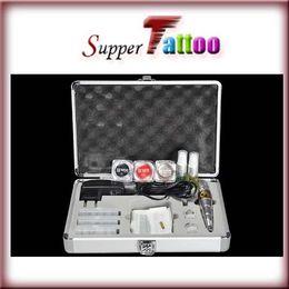 Top Permanent Makeup Kit Tattoo Eyebrow MachineTip Power Needle Ink Kit Supply