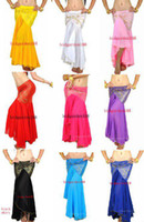Cheap Tribal Belly Dance Fishtail Skirt Womens Costume Accessories Sexy Yoga mixed colors free shipping