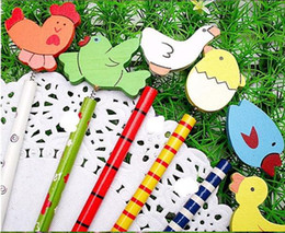 wholesale Cartoon Wooden Pencil cute pencil animal pencil promotional gift 18cm 50 designs