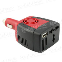 Wholesale DY W V DC to V V AC USB V Car Power Inverter Charger for Tablet PC Cell Phone DV MP3