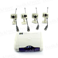 Wholesale Hot Sale RC420 Channel DVR Digital Video Recorder Receiver Wireless Camera TVL Audio