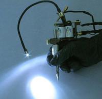 Wholesale 1pc Tattoo Machine LED LIGHT Adjustable Supply