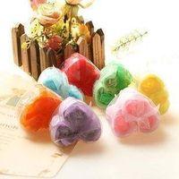 Wholesale 50 BOX soap flower hardmade rose petals flower paper soap mix color box choose color