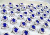 Wholesale 50pcs Kate Middleton Prince William Royal Wedding Engagement Sapphire Imitation Ring Diana s Rings