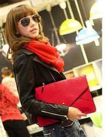 Wholesale Free Ship Sets Mixed envelope clutch women s envelope bags A4 Handbag Slim chic clutch design bag