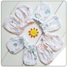 Wholesale cotton gloves newborn baby feet sleeve gloves pairs