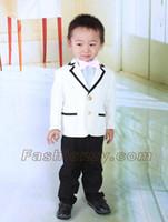 Wholesale Children s suit Male flower girl dresses boy suits piece of suits costumes NT93