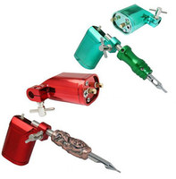 Wholesale 2PCS Top Red Green Rotary Motor Tattoo Shader Liner Machine Gun Pro Tattoo Machine Gun Equipment