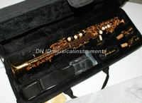 Wholesale Top Quality Brand Advaned YSS Soprano Saxophone Golden With Case