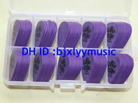 Wholesale Best Selling withcase piece Guitar Picks mm Purple Dunlop Tortex Guitar Picks TOP SELLER