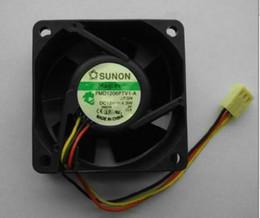 SUNON 6025 PMD1206PTV1-A 12V 4.3W Cooling Fan KD1206PTB1