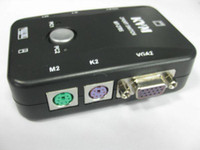 Wholesale 2 Ports Video VGA SVGA PS Manual KVM Switch Box Control KVM S
