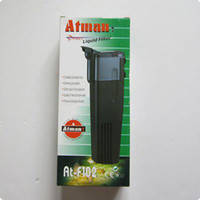 Wholesale Atman Aquarium Fish Tank Liquid Filter Pump Power Liquid Internal Filte Bio Filter L H At F102