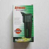 aquarium liquid filter - Atman W Aquarium Fish Tank Liquid Filter Pump Power Liquid Internal Filte Bio Filter L H At F101