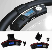 Wholesale BT168D Steering wheel Bluetooth car kit with wireless headphones Handsfree car kit